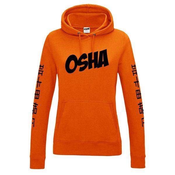 Female-orange-hoodie