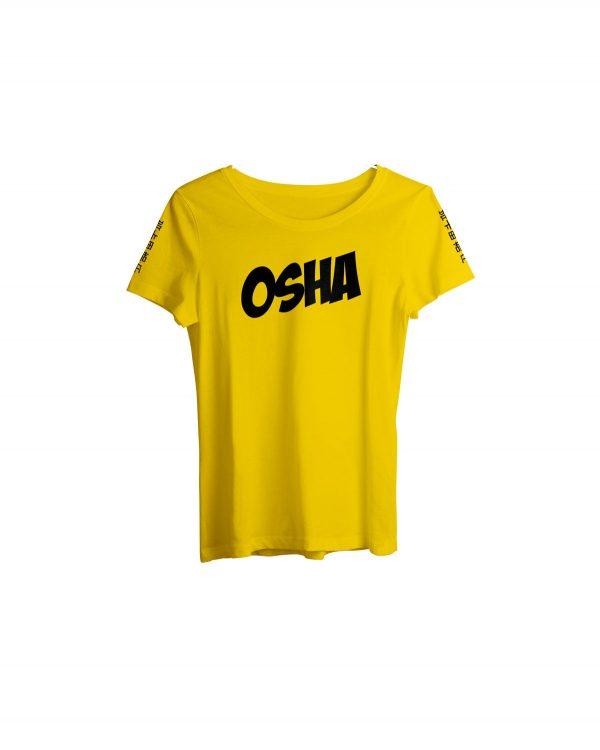 Women-Tshirt-Yellow