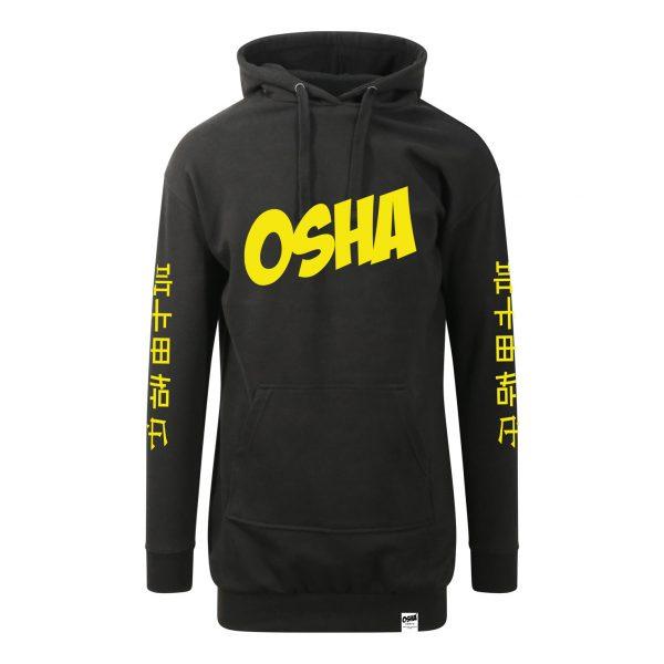 Osha-Female-Dress-Hoodie—Blac-Yellow